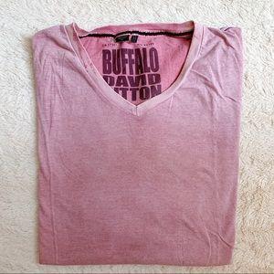 Buffalo David Bitton v-neck t-shirt. Like new!